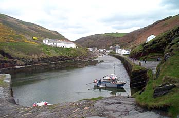 From the inner wall looking towards Boscastle