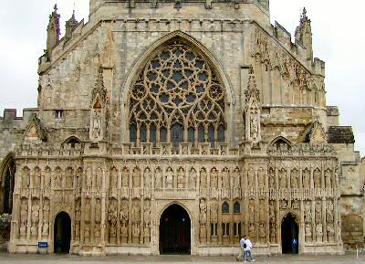 West Front of Exeter Cathedral