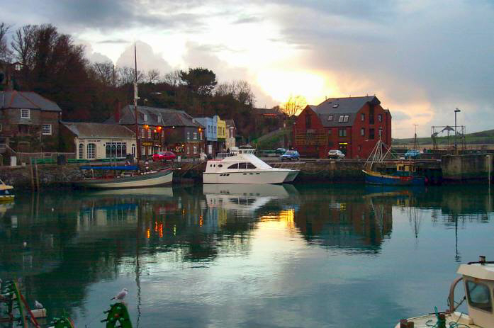 Dusk at Padstow