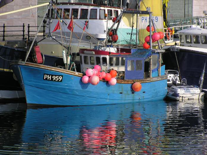 Fishing Boat, Plymouth Barbican