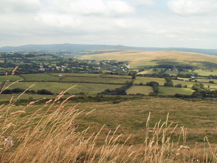 Dartmoor from Brentor