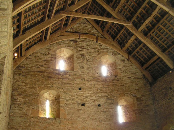 Buckland Abbey - Barn, Dartmoor