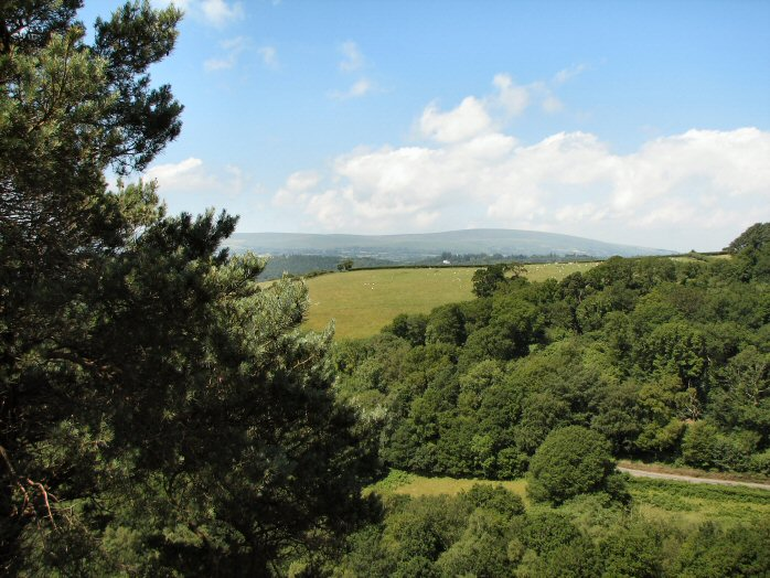 View of Dartmoor, Castle Drogo