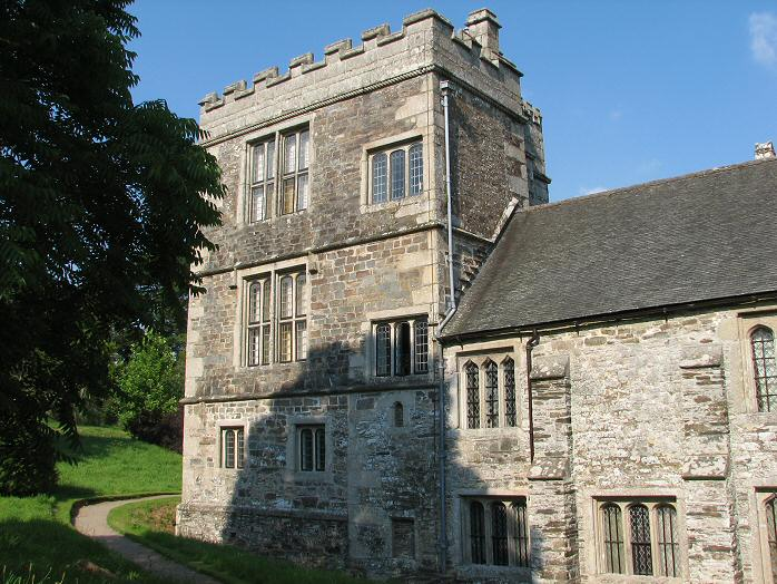 Cotehele Gardens - North-West Tower