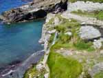 Tintagel Cove - the Waterfall