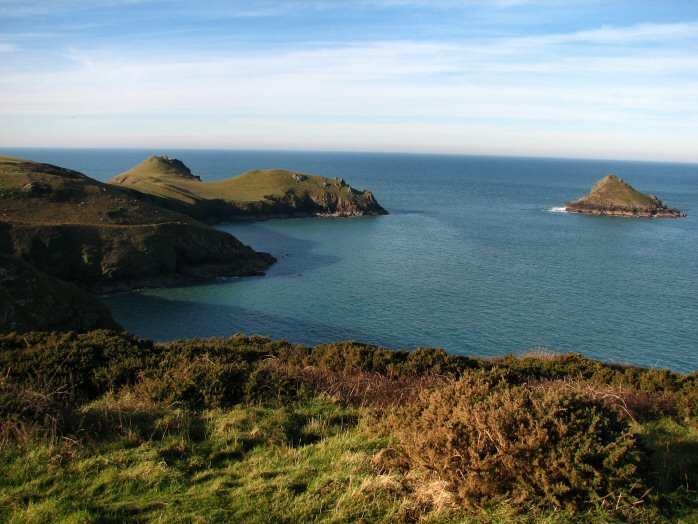 The Rumps and Moule Island