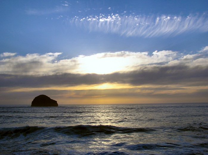 from Trebarwith Strand